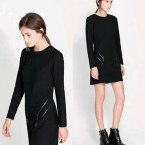 Zara Double Zipper Dress
